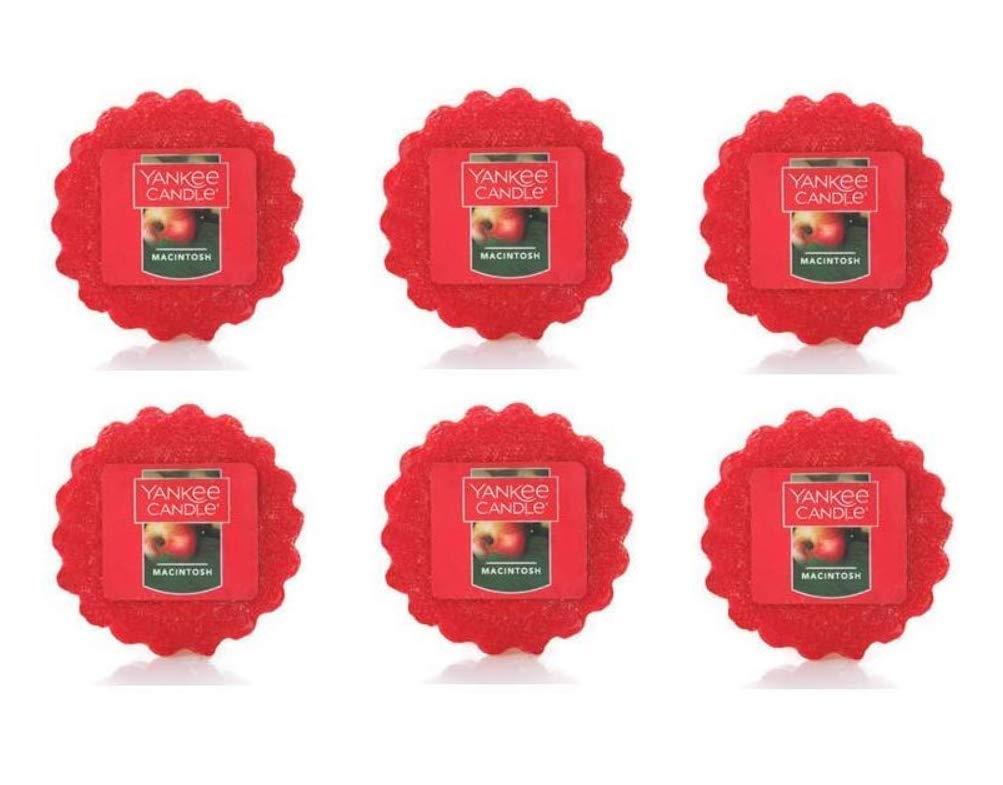 Yankee Candle Lot of 6 Macintosh Tarts Wax Melts
