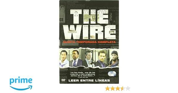 The Wire Temporada 5 [DVD]: Amazon.es: Andre Royo, Deirdre ...