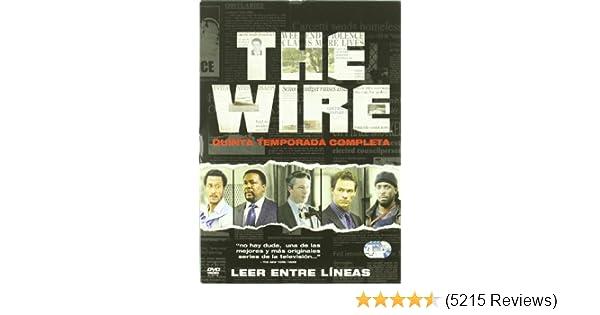 Amazon.com: The Wire (Bajo Escucha) - Temporada 5 (Import Movie ...