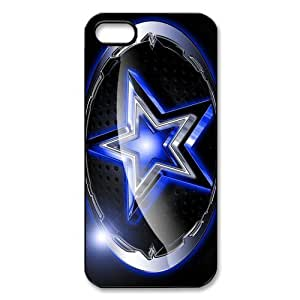 Godstore 2014 New Style NFL Dallas Cowboys Logo Cover Hard Plastic Case For HTC One M8 Cover Case