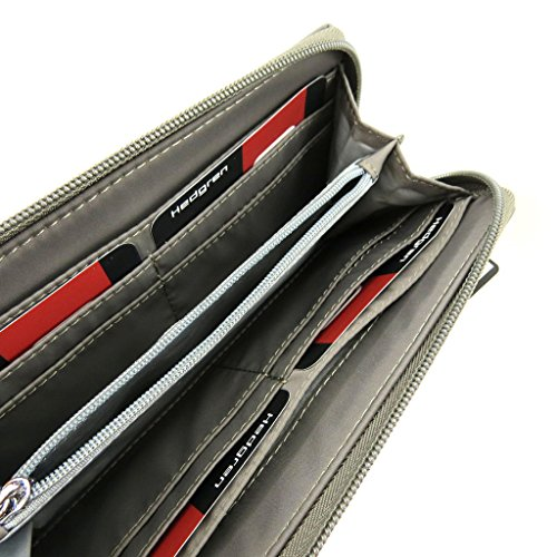 Zip holder wallet checkbook wallet Zip 'Hedgren' fabric mole rOrq78nxw
