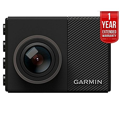 Garmin Dash Cam 65W 1080P w/ 180-Degree Field of View (010-01750-05) with 1 Year Extended Warranty by Garmin