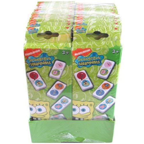 SpongeBob Squarepants 28-Piece Dominoes (Dominoes Spongebob)