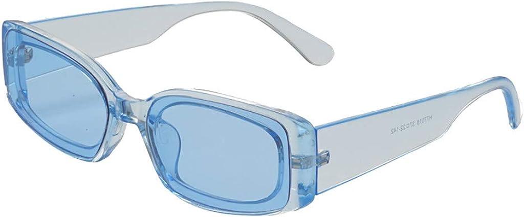 SUDADY Occhiali Sole Uomo Donna Unisex Retro Classico Sunglasses Eyewear Accessori Carnevale Cosplay Oscuranti Occhiali Vintage Mare Estivi Spiaggia