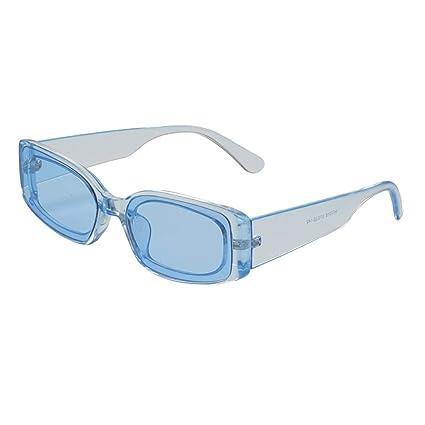 👓👓Qiiueen Gafas De Sol para Hombre Y Mujer, Moda De Verano ...