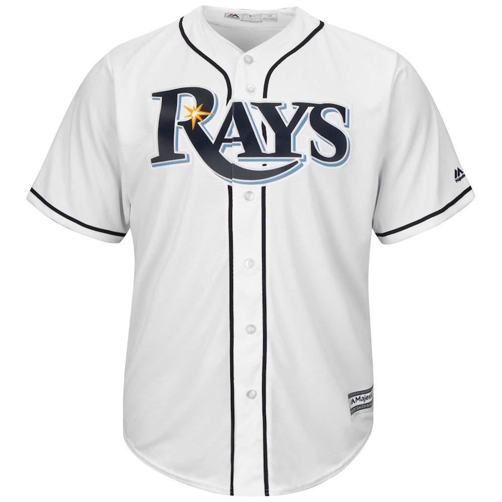 YQSB Jersey Baseball Baseball League # 18 Wendle Tampa Bay Rays Team Besticktes Baseballtrikot