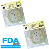 4 Tubing for Medela Pump in Style Advanced Breast Pump Release After Jul 2006. In Retail Pack. Replace Medela Tubing #8007212, 8007156 & 87212. BPA Free. Made By Maymom (Two Packs (4 tubes))