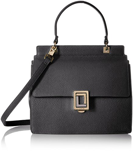 LUANA ITALY Rita Mini Satchel, Black