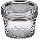 Ball 4-Ounce Quilted Crystal Jelly Jars with Lids and Bands, Set of 12-2 Pack (Total 24 Jars)