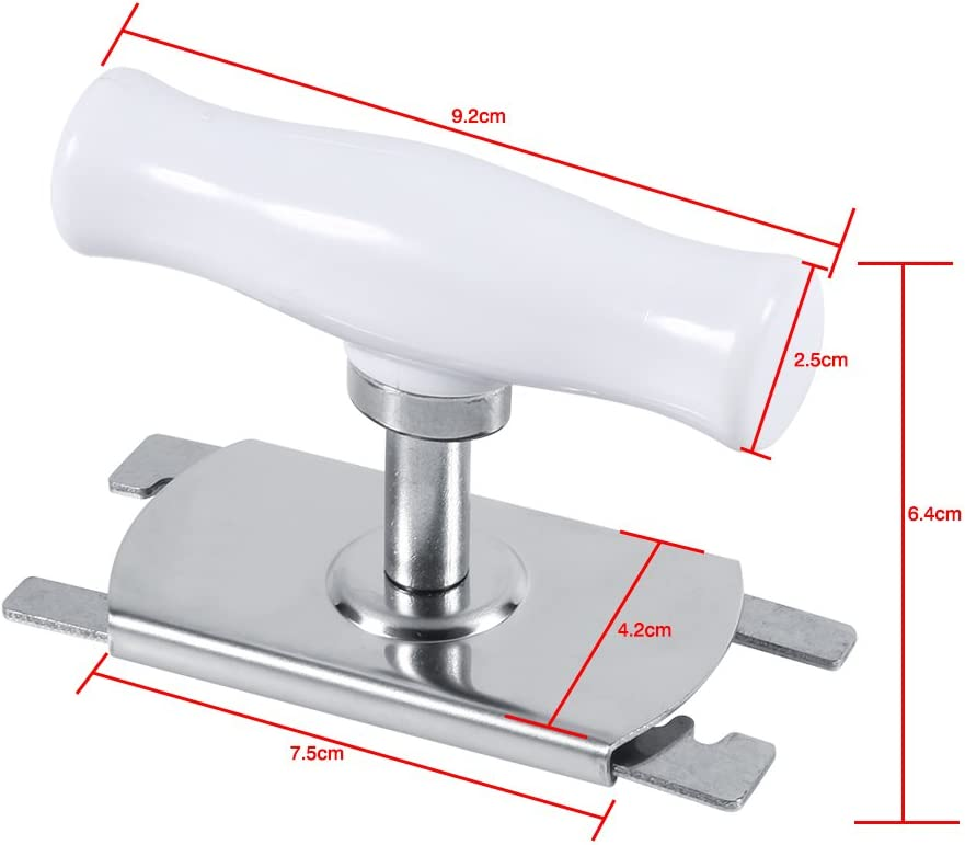 Adjustable Stainless Steel Jar Bottle Opener Can Lid Remover Grip Twist Off Tool
