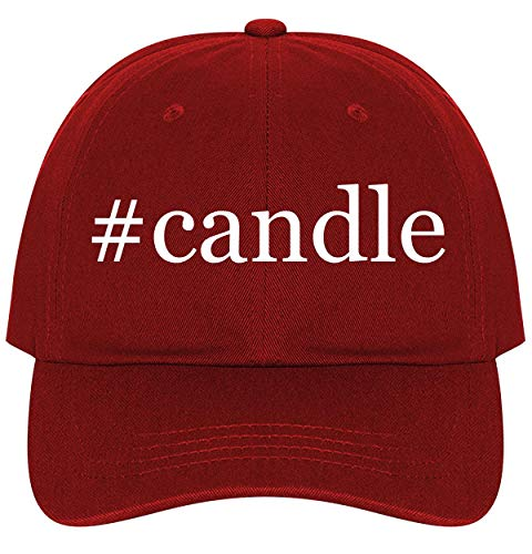 #Candle - A Nice Comfortable Adjustable Hashtag Dad Hat Cap, Red, One Size
