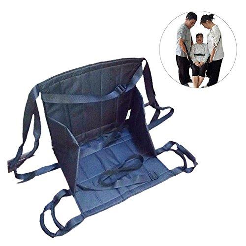 (GardenHelper Oxford Fabric Elderly Patient Patient Lift Stair Slide Board Transfer Emergency Evacuation Chair Wheelchair Nursing Shift Transfer Belt with Four Handles (Can't Lie Flat))