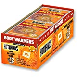 Body Warmers With Adhesive - Long Lasting Safe Natural Odorless Air Activated Warmers