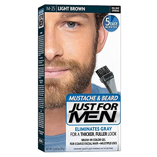 Brush Color Mustache Beard Light