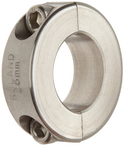 Ruland MCL-50-SS One-Piece Clamping Shaft Collar 50mm Bore 78mm OD Metric 19mm Width Stainless Steel