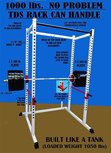 - TDS Power Rack / Squat Cage