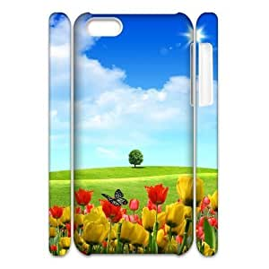 3D Case for IPhone 5C, Dreamscape Spring Case for IPhone 5C, Sexyass White