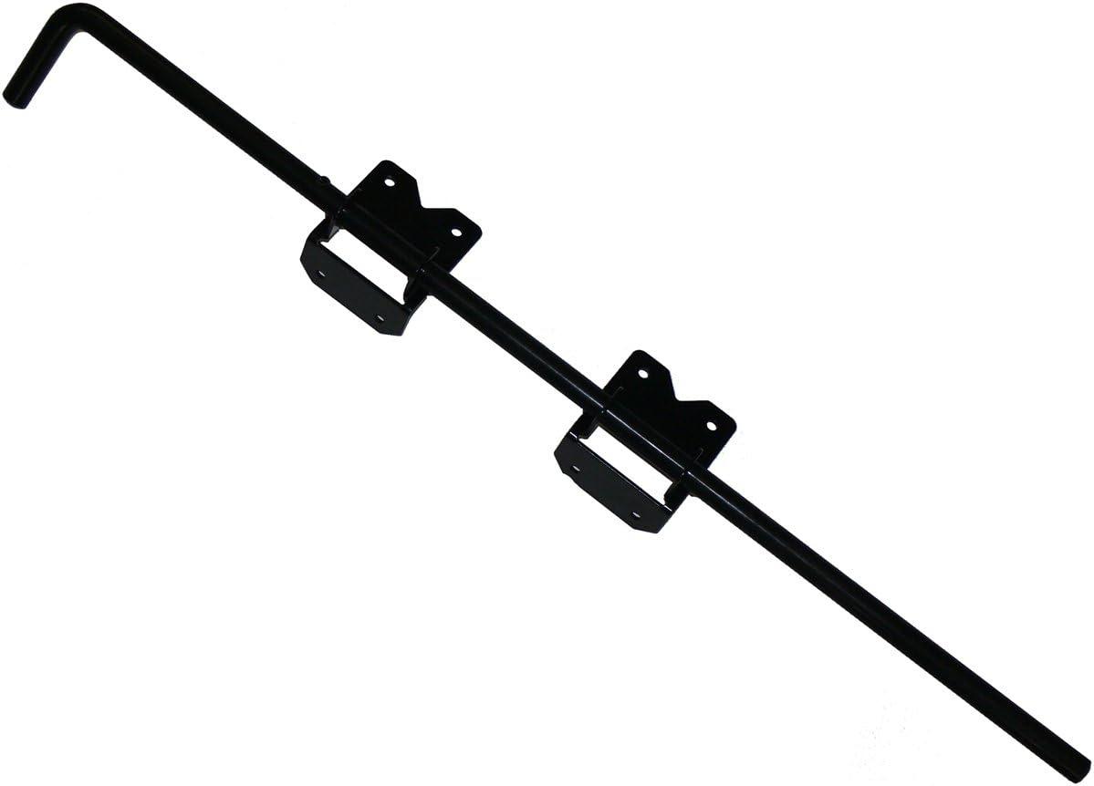 "Heavy Duty Stainless Steel PVC/Vinyl Fence 36"" Drop Rod and Screws- Black"