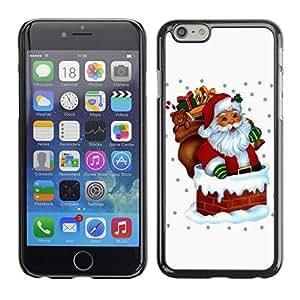 YOYO Slim PC / Aluminium Case Cover Armor Shell Portection //Christmas Holiday Santa Claus Holiday 1039 //Apple Iphone 6
