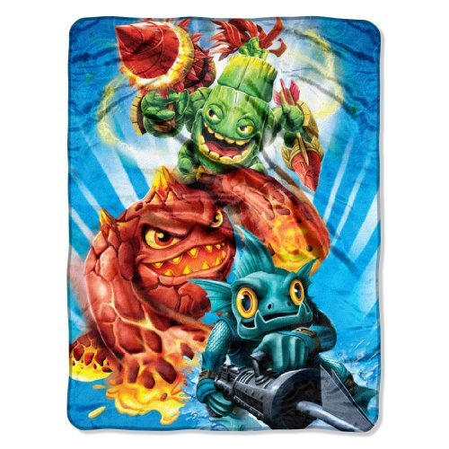 The Northwest Company Activision/Sky Landers Little Giants Micro-Raschel Throw, 46-Inch-by-60-Inch