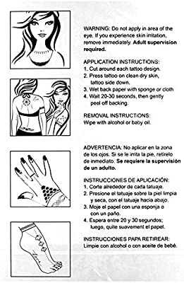 Hot Constellation Fake Waterproof Tattoo Flash Sexy Body Art Brazo ...
