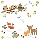 Lambs and Ivy Woodland Tales Wall Appliques