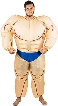 Bodysocks® Disfraz Hinchable de Hombre Musculoso Adulto ...