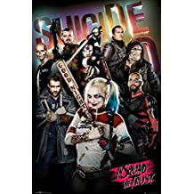 """Suicide Squad - Movie Poster / Print (In Squad We Trust) (Size: 24"""" x 36"""") (By POSTER STOP ONLINE)"""
