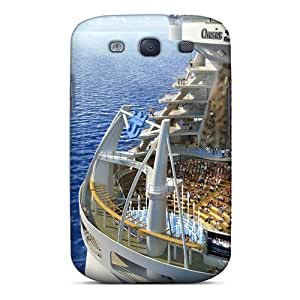 Unique Design Galaxy S3 Durable Tpu Case Cover Oasis Of The Seas Royal Caribbean