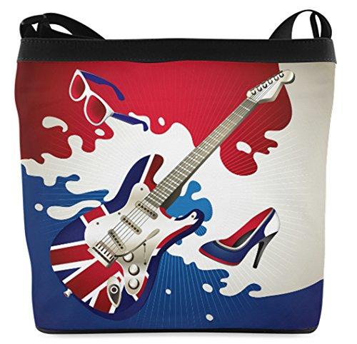Fashion Crossbody Casb010smusic10 Instruments Bag Shoulder Background Female with Bag Sling Musical vIqarI