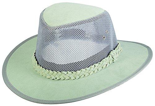 Dorfman Pacific Mesh Bush Soaker Hats Grey ()
