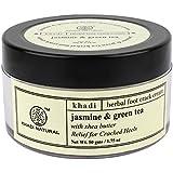 Khadi Natural Jasmine and Green Tea Herbal Foot Crack Cream, 50g