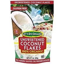 Lets Do Organics: Organic Coconut Flakes, 7 oz (3 pack)
