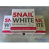 Snail White Whitening Soap 3 X 75g. by Pperfectgoods