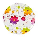 Zak Designs Posie 11-Inch Melamine Dinner Plate