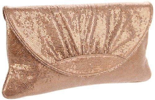 Lauren Merkin Ava AC1S217-BRZ Clutch,Bronze,One Size, Bags Central
