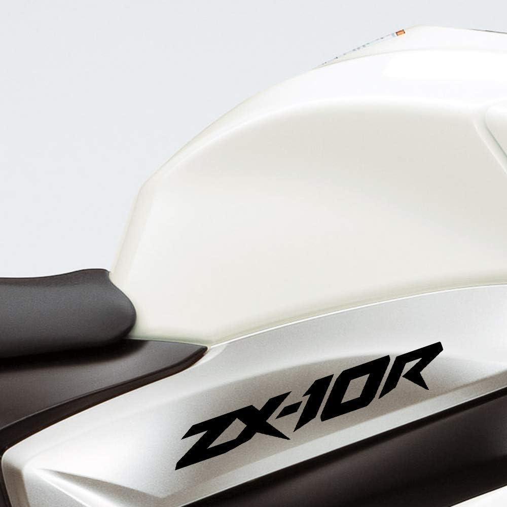 Gloss Black Motorcycle Superbike Sticker Decal Pack Waterproof for Kawasaki ZX-10R