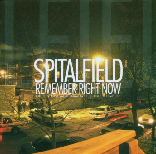 CD : Spitalfield - Remember Right Now (CD)