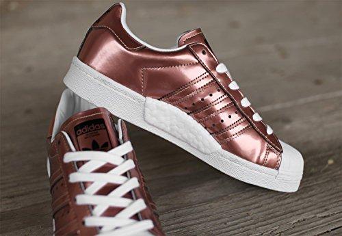 Adidas Originals Dames Superstar Boost Trainers Koper Metallic Us9.5 Overig