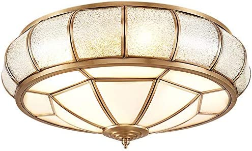 Todo cobre Lámparas de techo LED, Nordic metal de cobre