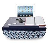 iCozy Portable Cushion Lap Desk With Storage - Blue Cat eye