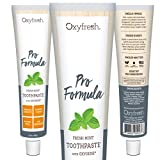 Oxyfresh Original Mint Toothpaste: For Long-Lasting Fresh Breath & Healthy Gums. Dentist recommended. No Artificial Colors, Low-Abrasion.