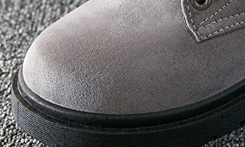Boots Di slip Gray Martin Stivali Snow Non Calda Lace dp4tqWnq