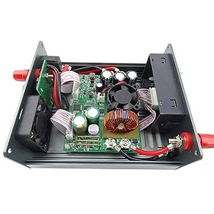 DollaTek Material de Acero Laminado en fr/ío Kit de Carcasa para la Serie DPS M/ódulo de Fuente de alimentaci/ón LCD Digital Programable Corriente de Voltaje Constante DPS3012 DPS5015 DPS5020 DPH3205