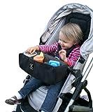 J.L. Childress Food 'N Fun Stroller Snack Tray - Black
