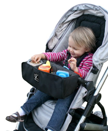 - J.L. Childress Food 'N Fun Stroller Snack Tray, Black