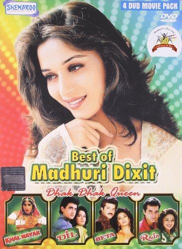 Best of Madhuri Dixit Dhak Dhak Queen (Khalnayak/Dil/Beta/Raja - 4 Movie Dvd Pack) (Best Of Madhuri Dixit)