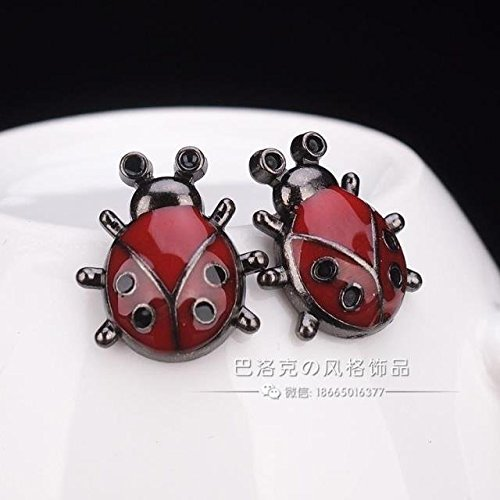 The new animal brooch / collar shirt collar influx of men and women burst models clothing with a brooch pin / ladybird needles