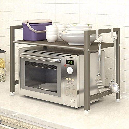 lzzfw Cocina Microondas Racks de Montaje en Rack de Cocina ...