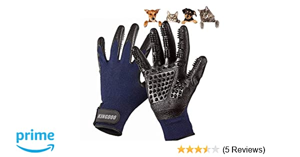 Amazon.com : Pet ninja glove/Grooming Gloves for cat dog/Pets Hair Brush Remover Mitt/Enhanced Petting Glove Five Fingers Design/Perfect for Cats Dogs ...